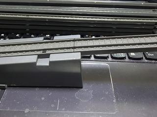 スロープ部と高架部の接続部分(接続後)