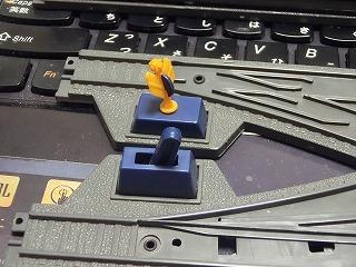 切り替え部のレバー形と転轍器標識形