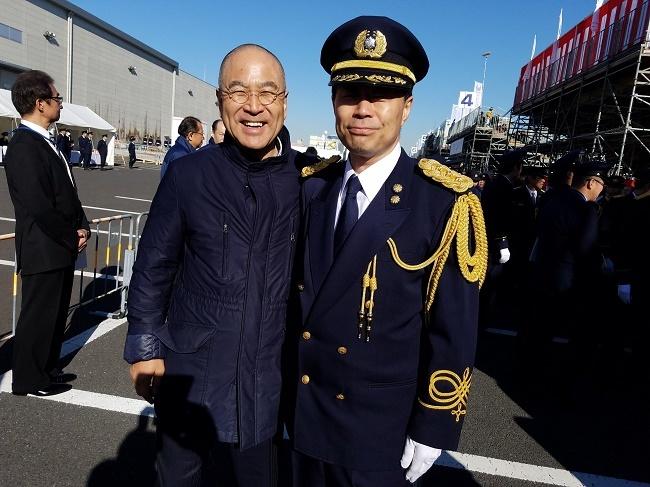 東京消防庁、安藤次長と