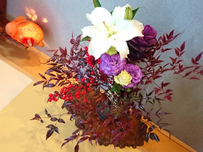 2018シュエットのお花