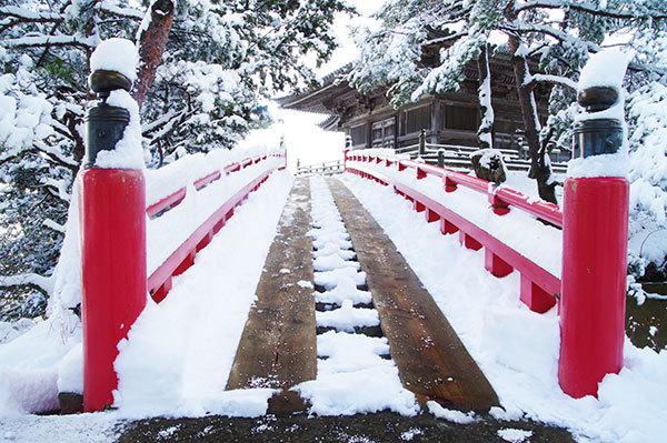 雪の松島(1)