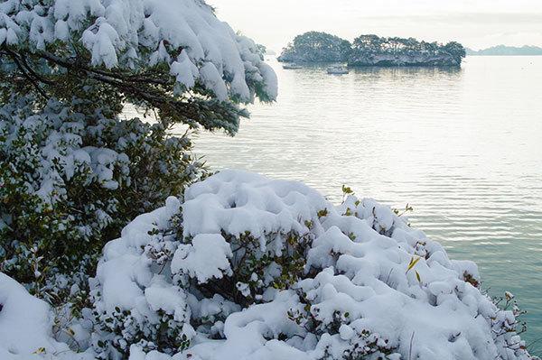 雪の松島(2)