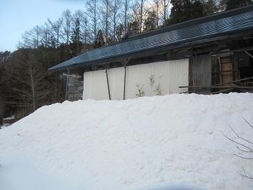 小屋の煙突