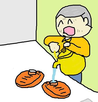 湯たんぽ係
