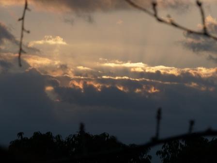 雲の上からの初日の出 3