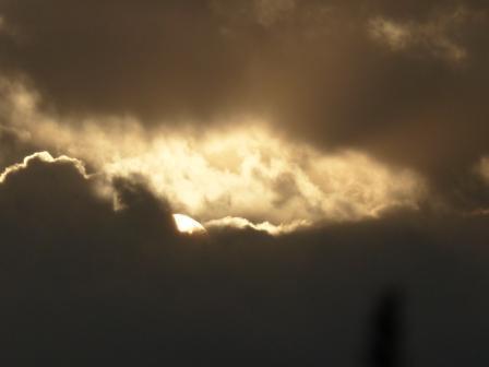 雲の上からの初日の出 7