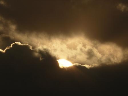 雲の上からの初日の出 8