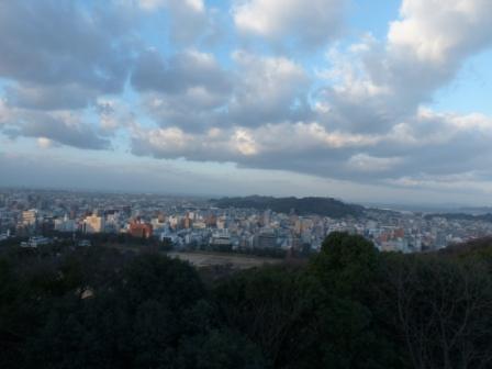 本丸広場 からの眺め