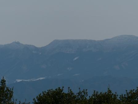 松山総合公園からの眺望 山 3