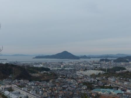 松山総合公園からの眺望 海 1