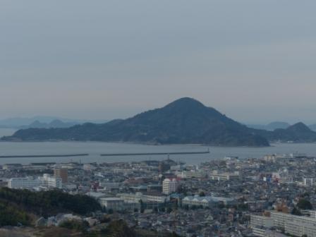 松山総合公園からの眺望 海 2