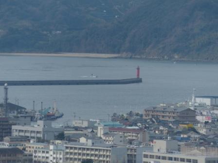 松山総合公園からの眺望 海 3