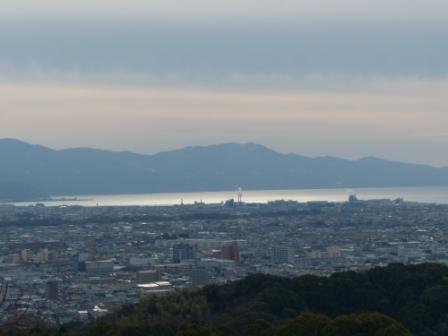 松山総合公園からの眺望 海 4