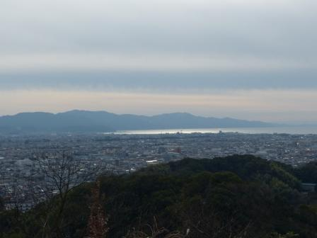 松山総合公園からの眺望 海 5