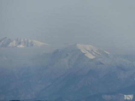 松山総合公園からの眺望 山 2