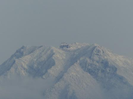 松山総合公園からの眺望 石鎚山 3