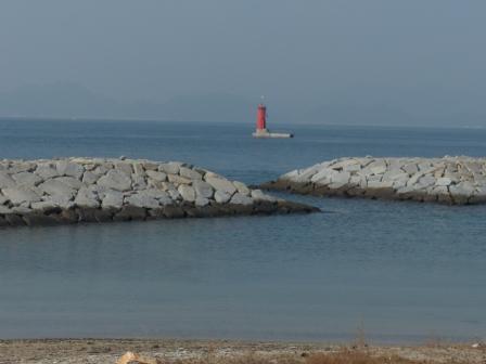 大角海浜公園 風景 (西浦バス停から) 1