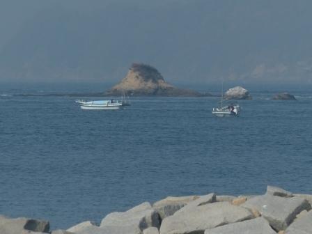 大角海浜公園 風景 (西浦バス停から) 3