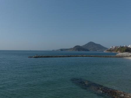 梅津寺の海 1
