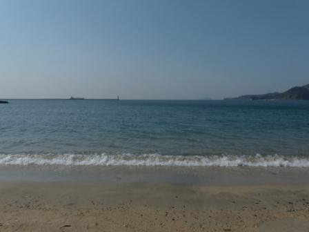 梅津寺の海 3