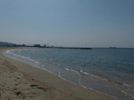 梅津寺の海 4