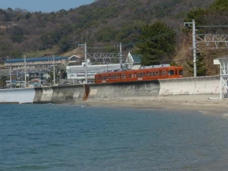 海と電車 1