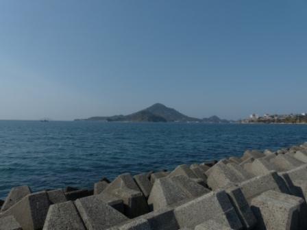 梅津寺の海 6