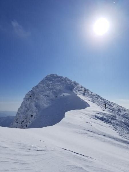1月谷川岳