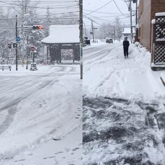 2月12日雪