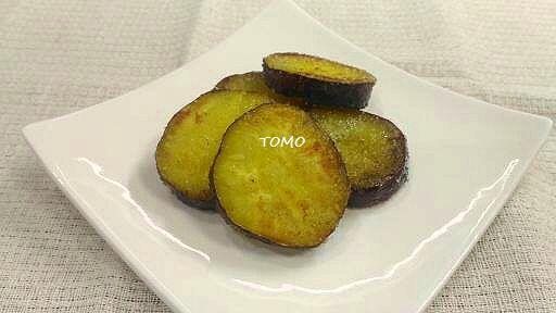 さつま芋のシュガーシナモン焼き