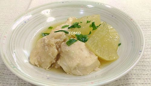 炊飯器で大根と鶏胸肉の煮物1