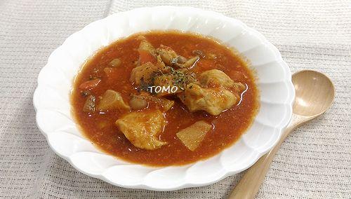 鶏胸肉のトマトシチュー