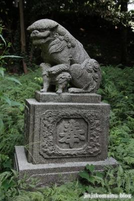 八所神社(都筑区池辺町)9