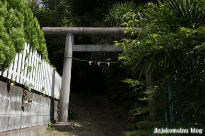 八所神社(都筑区池辺町)2