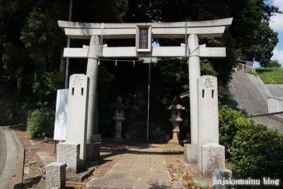 杉山神社(都筑区佐江戸町)1