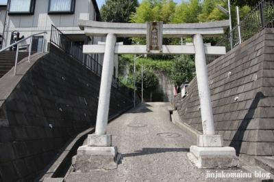 八幡神社(緑区上山)3