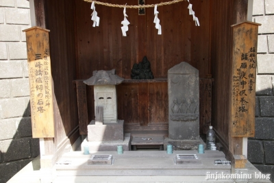 八幡神社(緑区上山)10
