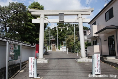 杉山神社(緑区中山町)1