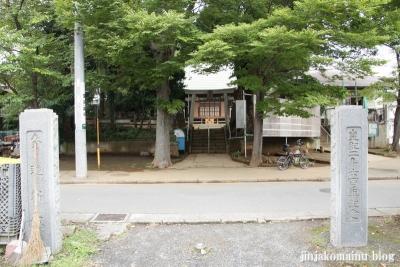 杉山神社(緑区青砥町)1
