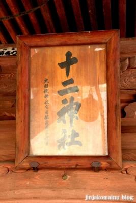 十二社神社(緑区北八朔町)1