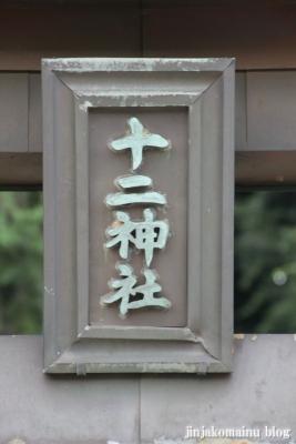 十二社神社(緑区北八朔町)7