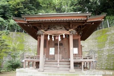 十二社神社(緑区北八朔町)2