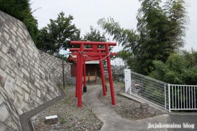 稲荷神社(緑区北八朔町)1