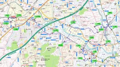 中山~長津田 16,4km