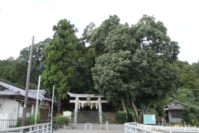 山住神社(左京区岩倉西河原町)1