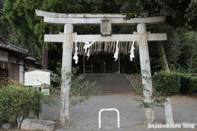 山住神社(左京区岩倉西河原町)2