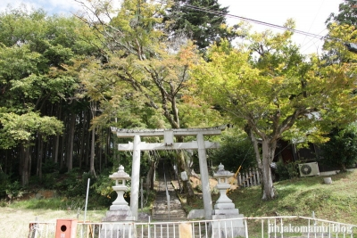 妙見神社(左京区岩倉花園町)1