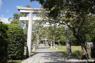 三宅八幡宮(左京区上高野三宅町)5