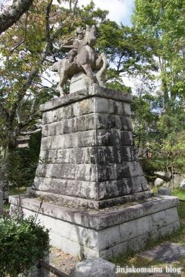 三宅八幡宮(左京区上高野三宅町)7