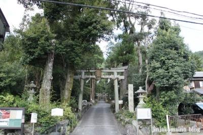 崇道神社(左京区上高野水車町)1